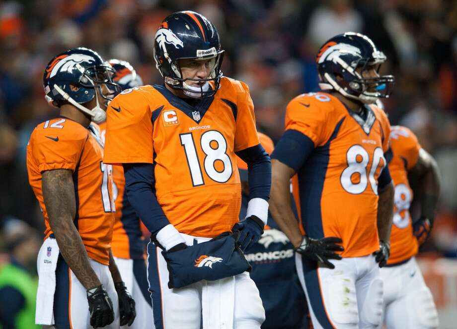 2. Broncos (11-3) Last week: 1Peyton Manning has 47 touchdown passes entering Sunday's game against the Texans. He needs four to break Tom Brady's league record. Photo: Dustin Bradford, Getty Images