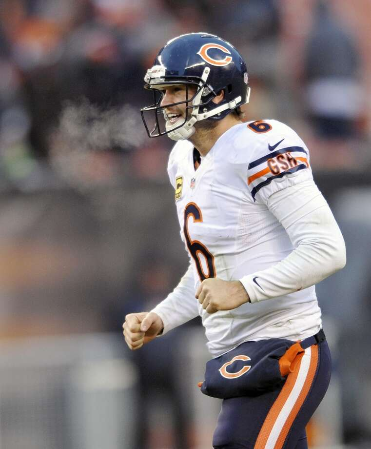 10. Bears (8-6) Last week: 11Jay Cutler's successful return at quarterback in the victory over Cleveland has put the Bears in position to win the NFC North. Photo: David Richard, Associated Press