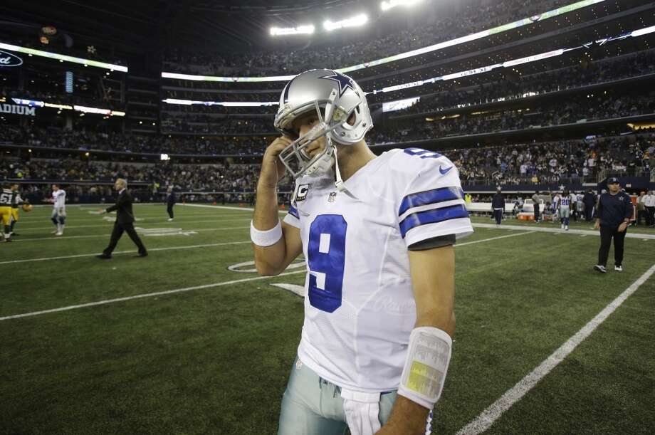 17. Cowboys (7-7) Last week: 14  As bad as the Cowboys' meltdown was against Green Bay, if they win their last two against Washington and Philadelphia, they'll win the NFC East. Photo: Tim Sharp, Associated Press