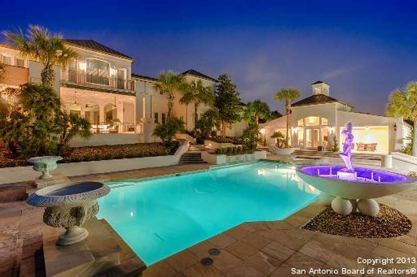 David Robinson's former 12,574 square foot home with 8 bedrooms, 12 bathrooms. Priced at $7.5 million.
