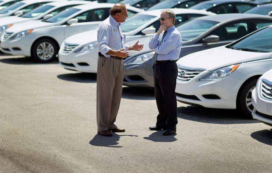 "20. Car salespeopleOnly 9 percent of survey participants said the honesty and ethical standards of car salespeople are ""very high"" or ""high."" Photo: Getty Images"