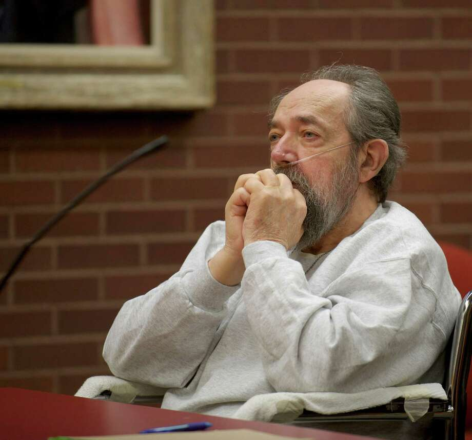 John Heath, the former Newtown resident convicted, in October, of the 1984 killing of his wife, during his sentencing in Superior Court, Danbury, Conn, on Wednesday, December 18, 2013. He was sentenced to serve 50 years in prison. Photo: H John Voorhees III / The News-Times Freelance