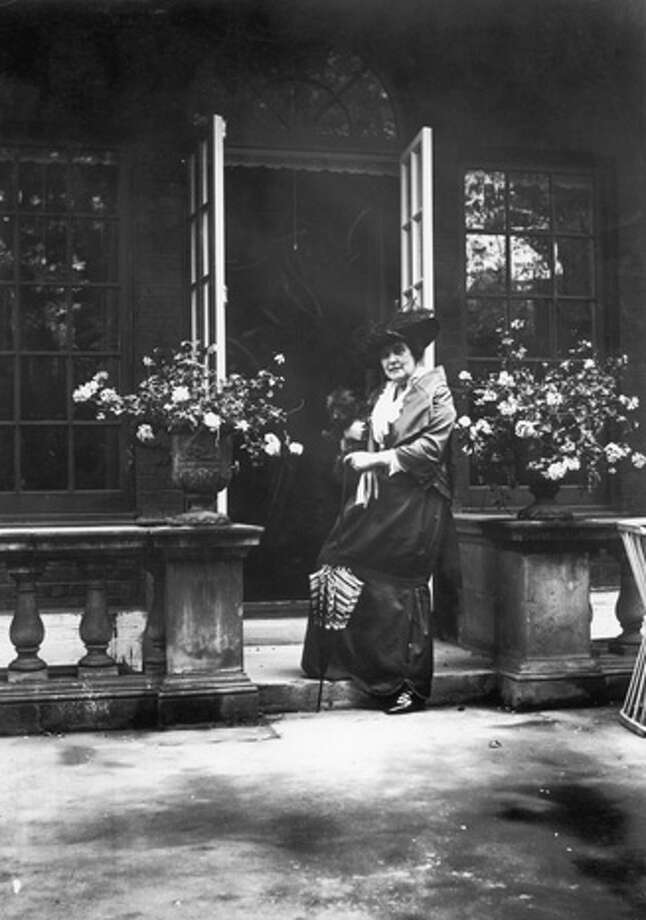 Lady Randolph Churchill nee Jennie Jerome, the mother of British statesman Winston Churchill, at her Brook Street residence, August 1914. Photo: Topical Press Agency, Getty Images / 2005 Getty Images