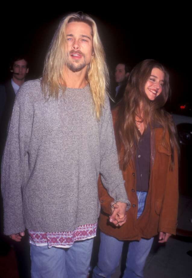 The Kurt Cobain look (with Jitka Poheldek) Photo: Barry King, WireImage