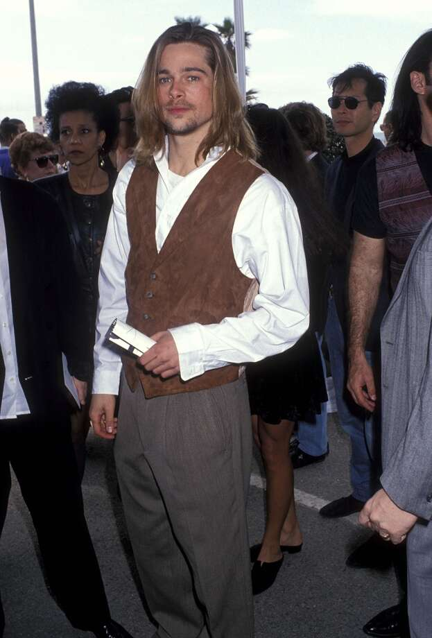 A seemingly endless parade of vests, sometimes in suede. Photo: Ron Galella, Ltd., WireImage