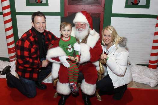 Breakfast With SantaSaturday-Wednesday, Dec. 20-24 The Downtown Aquarium is hosting this kid-friendly breakfast buffet that includes visits by Sharkey and Santa Claus.When: 8-10 a.m. Where: 410 BagbyTickets: $17.99 ($11.99 for ages 3-10)Information: (713) 223-3474 Photo: Gary Fountain, Copyright 2013 Gary Fountain. / Copyright 2013 Gary Fountain.