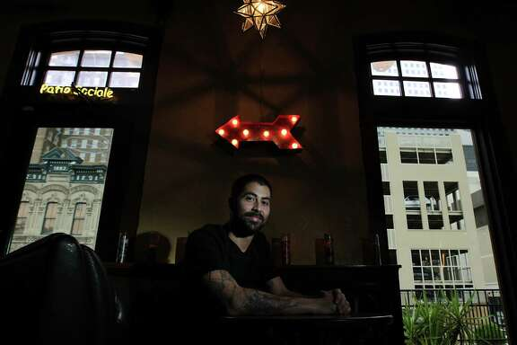 El Big Bad bar and restaurant Executive Chef Ben Rabbani poses for a portrait Thursday, Dec. 12, 2013, in Houston.  ( James Nielsen / Houston Chronicle )