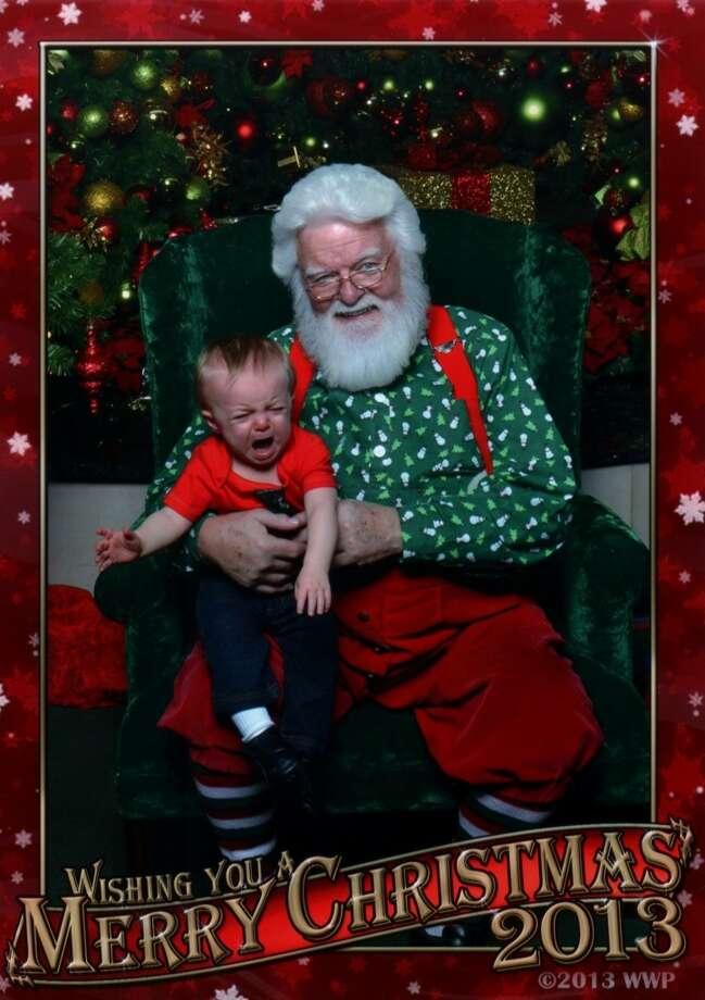 Christian's first Christmas. Emilie Spencer
