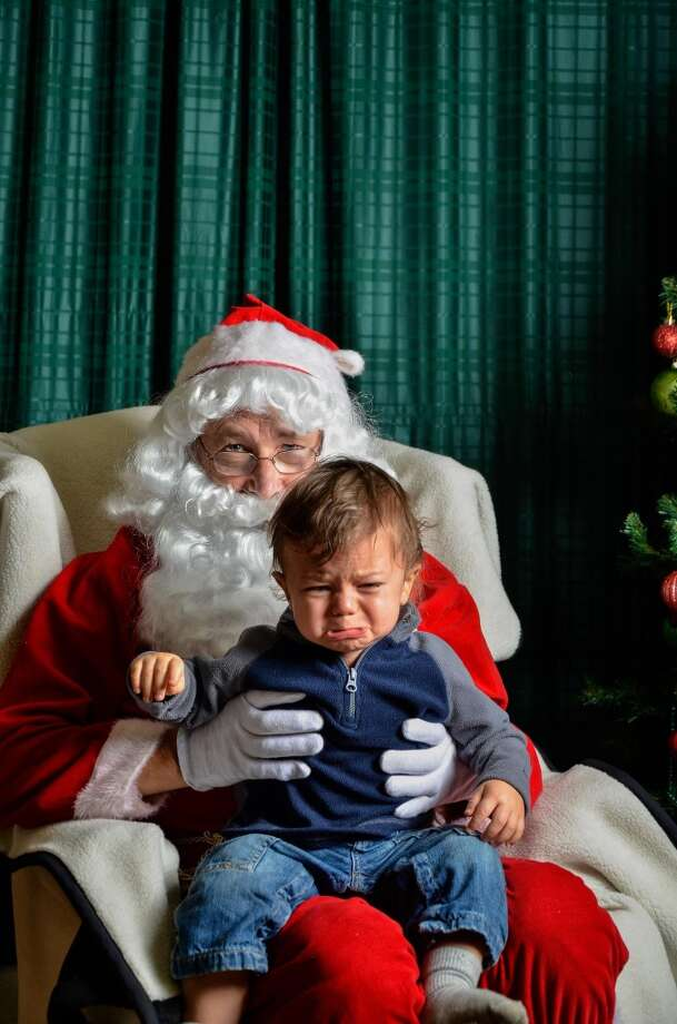 Well the picture says it all - was not a fan of Good old St Nick that year!