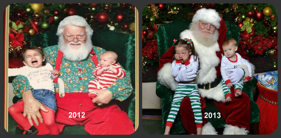 Maybe Kylie and Santa can finally be friends in 2014.