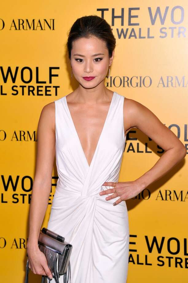 "Jamie Chung attends Giorgio Armani Presents: ""The Wolf Of Wall Street"" world premiere at the Ziegfeld Theatre on December 17, 2013 in New York City. Photo: Stephen Lovekin, Getty Images For Giorgio Armani"