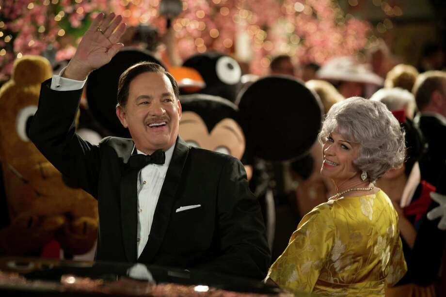"This image released by Disney shows Tom Hanks as Walt Disney in a scene from ""Saving Mr. Banks."" (AP Photo/Disney, Francois Duhamel)  ORG XMIT: NYET619 Photo: Francois Duhamel / Disney"