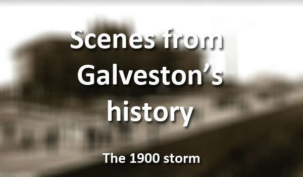 From the 1900 storm that decimated the island to fun on the beach for spring break, here's a look at Galveston over the years.