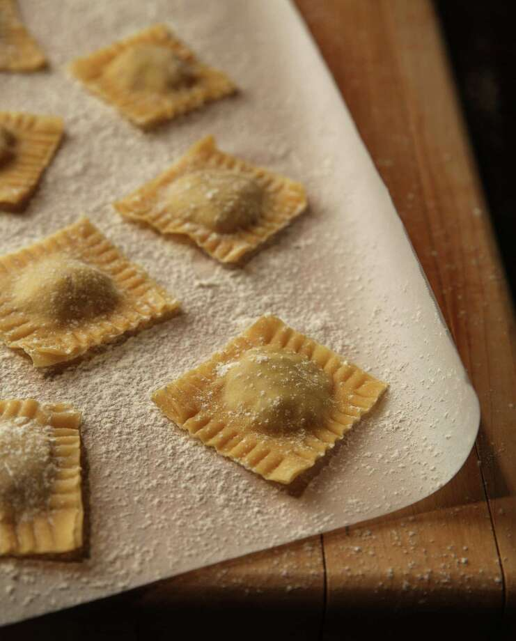 Making ravioli from scratch can take time but it can be an exercise in family working together on a fun dinner. (E. Jason Wambsgans/Chicago Tribune/MCT) ORG XMIT: 1146427 Photo: E. Jason Wambsgans / Chicago Tribune
