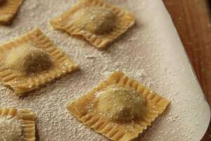 Making ravioli from scratch can take time but it can be an exercise in family working together on a fun dinner. (E. Jason Wambsgans/Chicago Tribune/MCT) ORG XMIT: 1146427