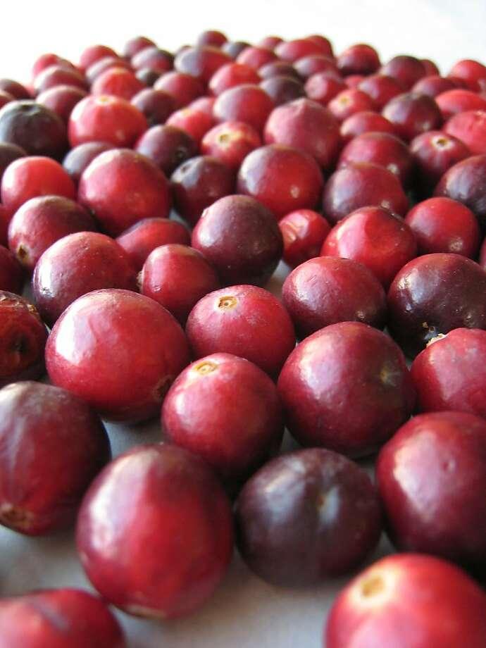Cranberries. Photo: Erick Wong