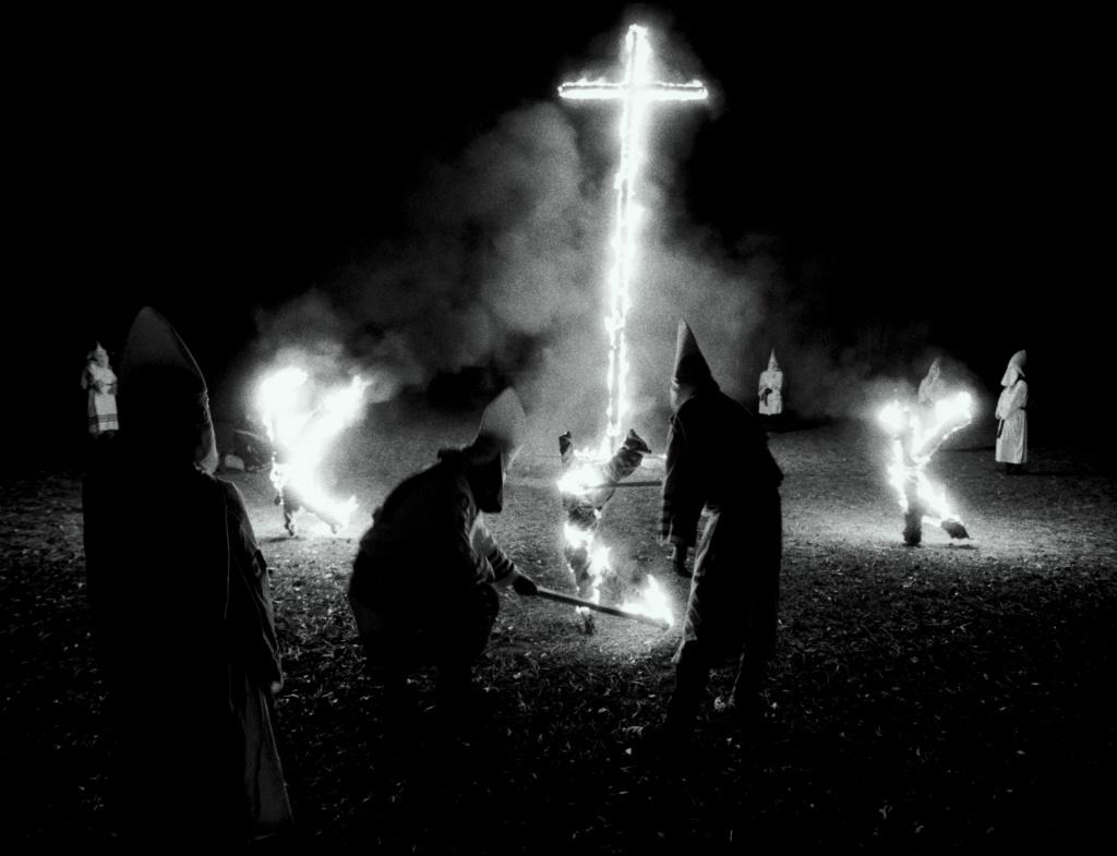 Ku Klux Klan Recruiting In Central Texas Neighborhood