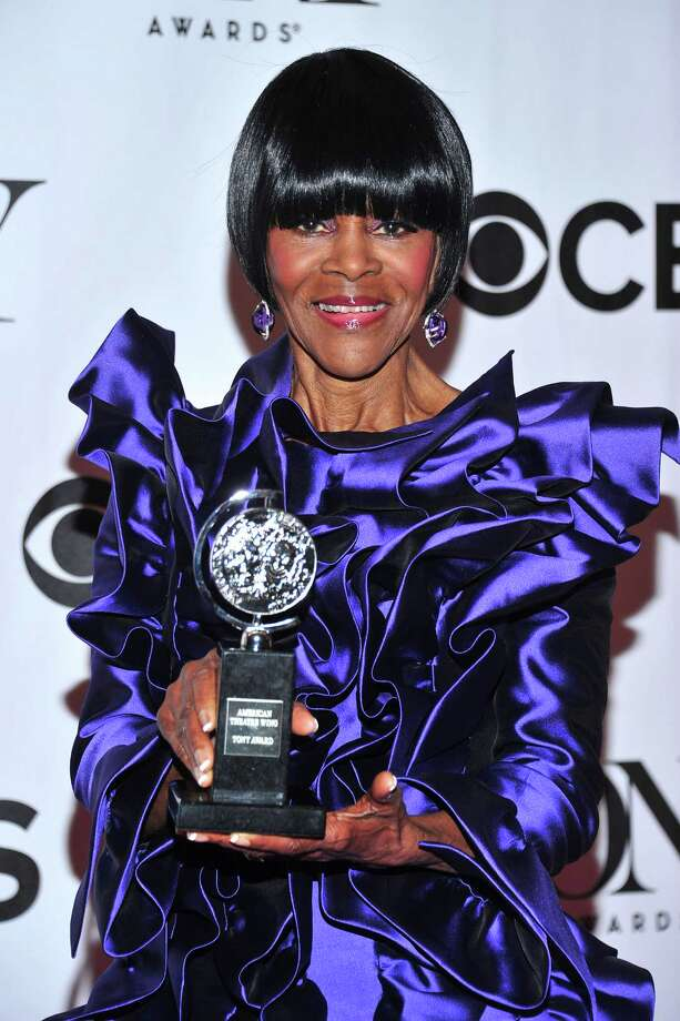 "Cicely Tyson poses with her award for best actress in a play for ""The Trip to Bountiful,"" in the press room at the 67th Annual Tony Awards, on Sunday, June 9, 2013 in New York.  (Photo by Charles Sykes/Invision/AP) Photo: Charles Sykes / Invision"