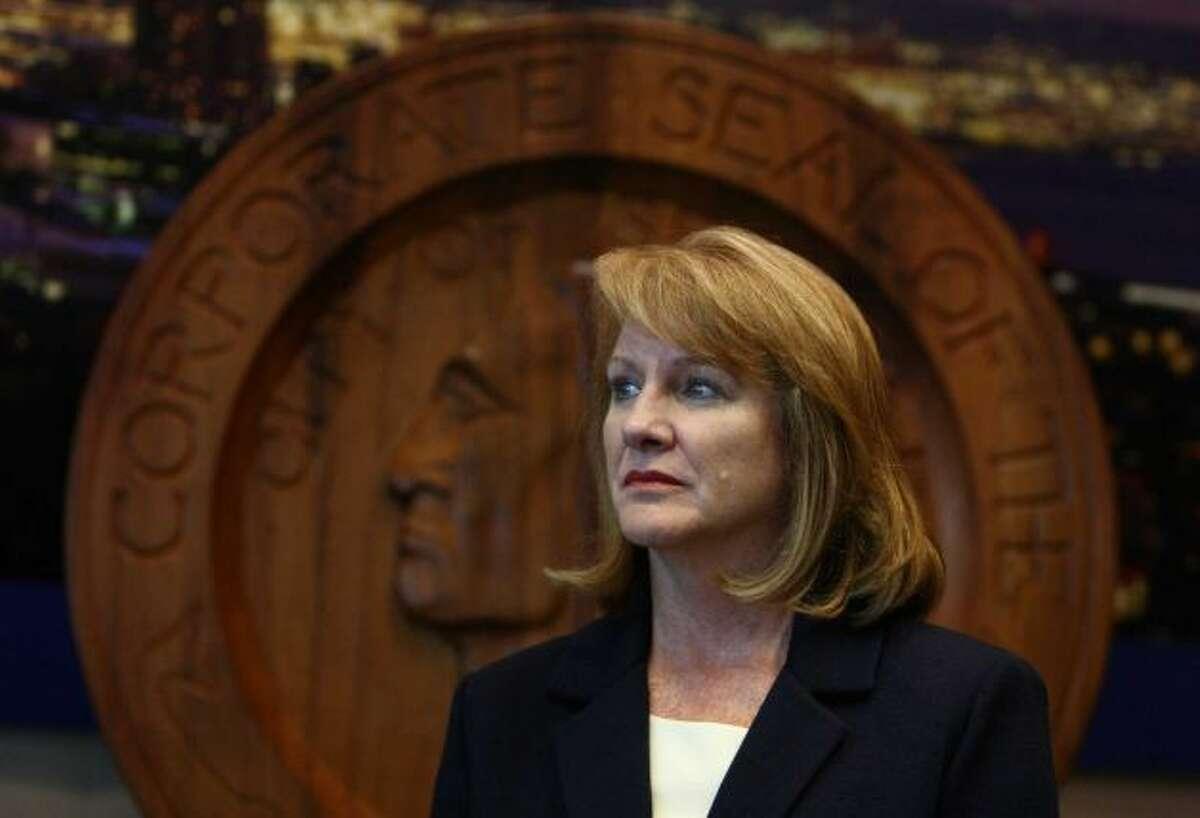 In political harm's way: Seattle Mayor Jenny Durkan.