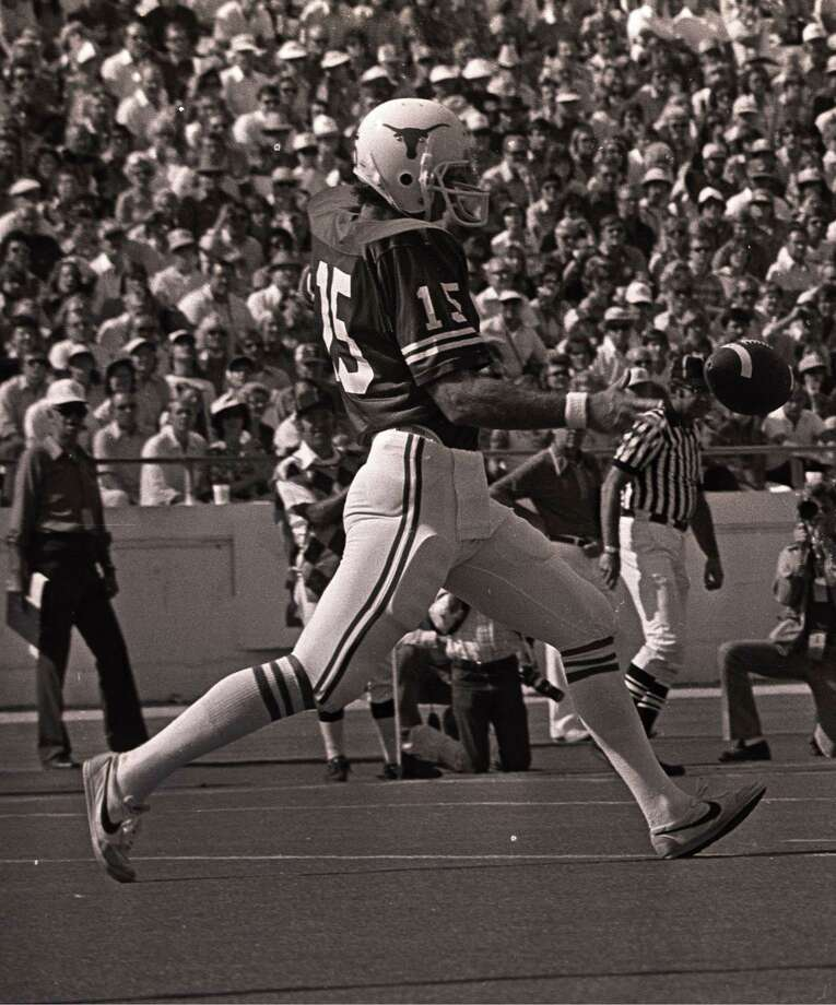 Russell Erxleben was known for both his booming punts and lengthy field goals at UT in the late 1970s. Photo: Courtesy Photo