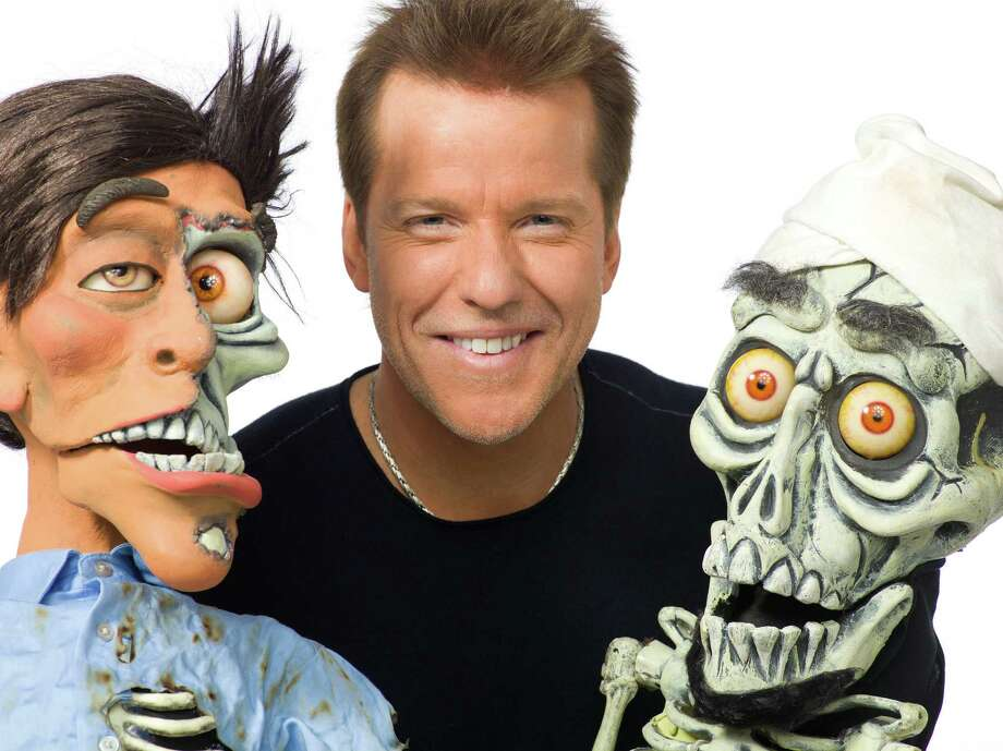Jeff Dunham, the internationally renowned comedian who makes ventriloquism cool, brings his worldwide âÄúDisorderly ConductâÄù tour to HartfordâÄôs XL Center on Tuesday, Dec. 31, for a 3 p.m. show. He's seen here with some of his comedic sidekicks. Photo: Contributed Photo / The News-Times Contributed
