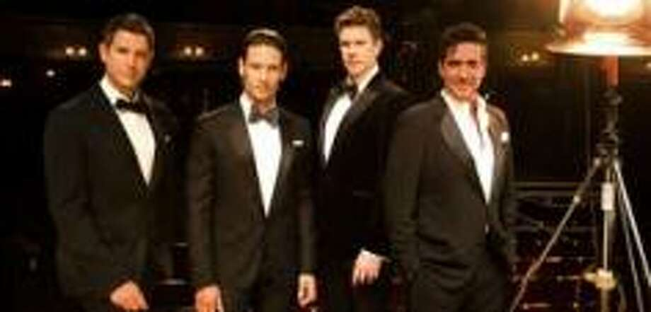 The English vocal group Il Divo comes to The Woodlands on Sunday, April 27. Photo: Courtesy Of The Cynthia Woods Mitchell Pavilion