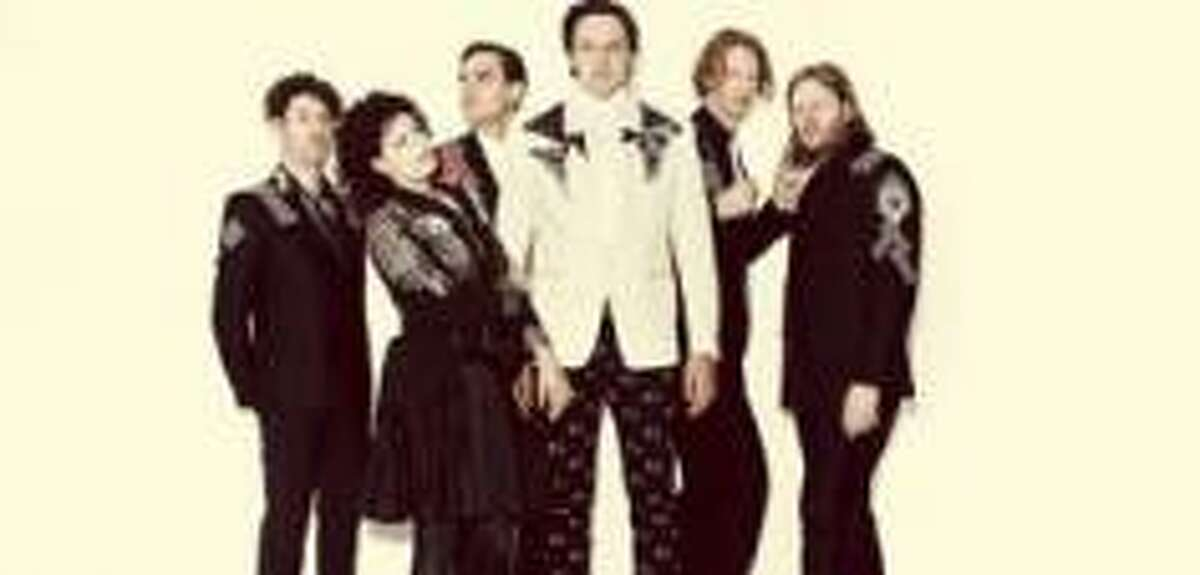 Arcade Fire performs Wednesday, April 9, in The Woodlands.