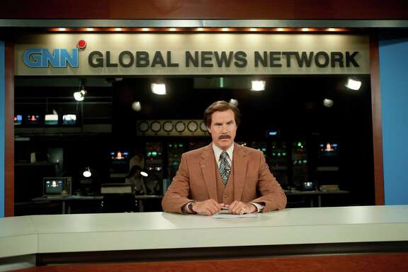 "In the first ""Anchorman"" movie, Ron Burgundy (Will Ferrell) always signed      off with ""Stay classy, San Diego."" Now he's gone global."