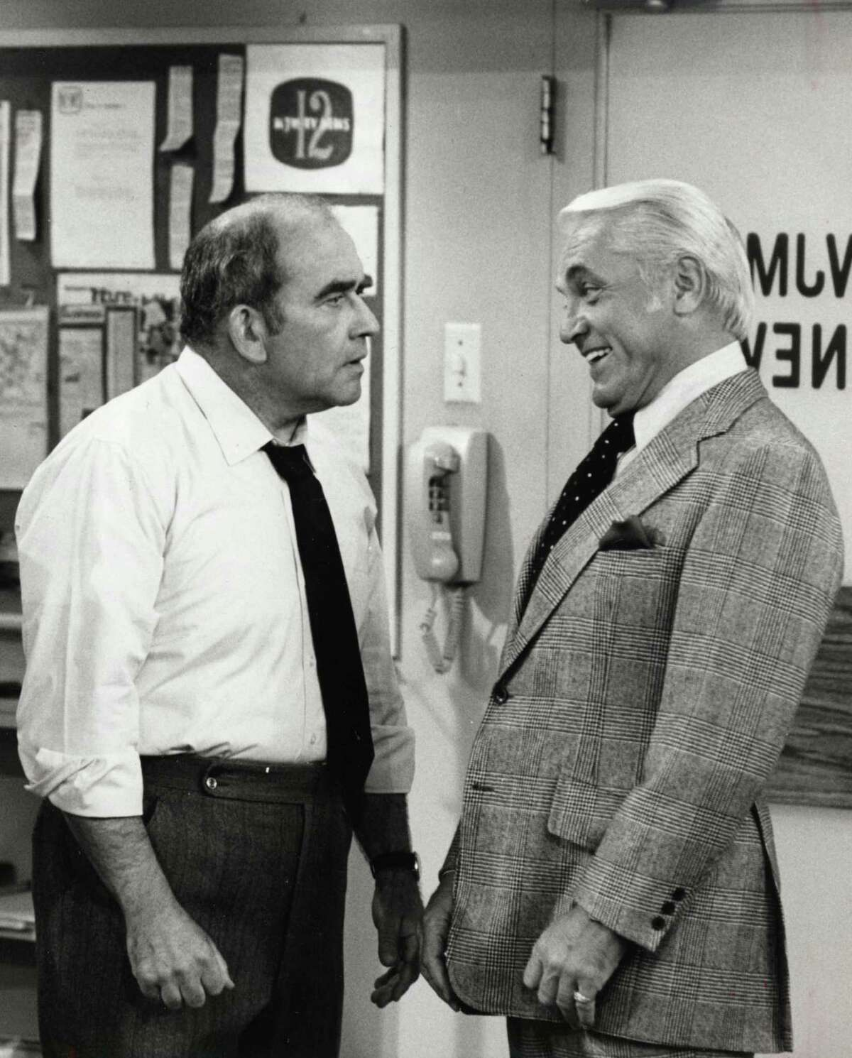 Break But he caught his big break in 1970 when he was cast as the boss, Lou Grant, on