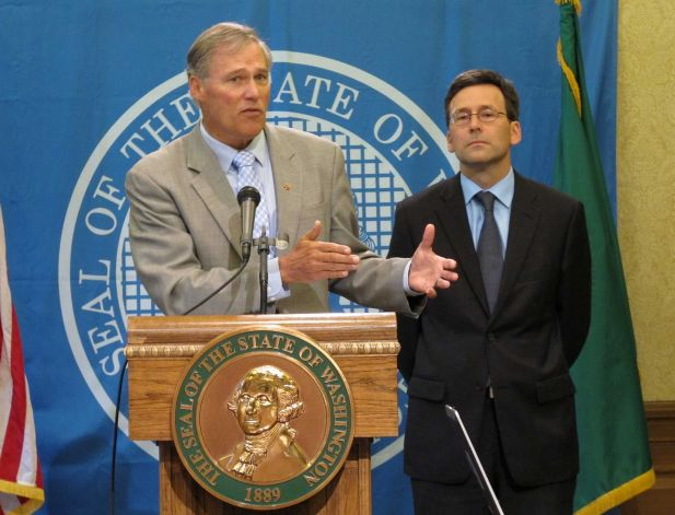 Connelly: Ferguson, Franz distance runners for Inslee's job