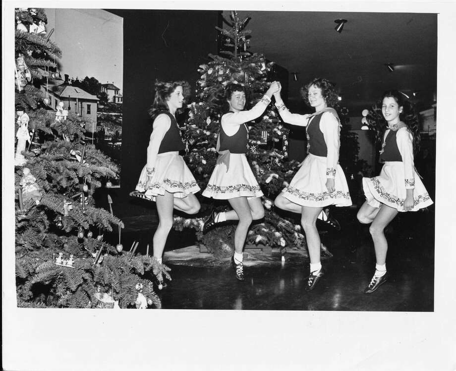 When Seattle had a Museum of Science and Industry, these Irish dancers were part of the holiday scene on Dec. 5, 1980.  Photo: -