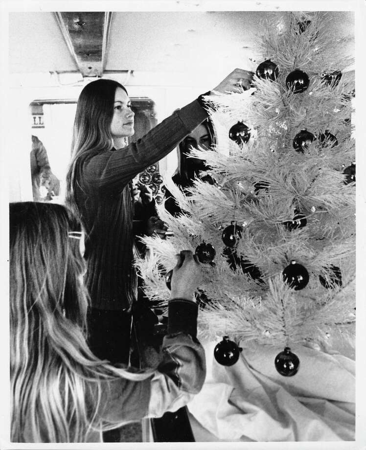 Seattle also had its share of frosted 1970s trees. (Photo: Dec. 10, 1972) Photo: -
