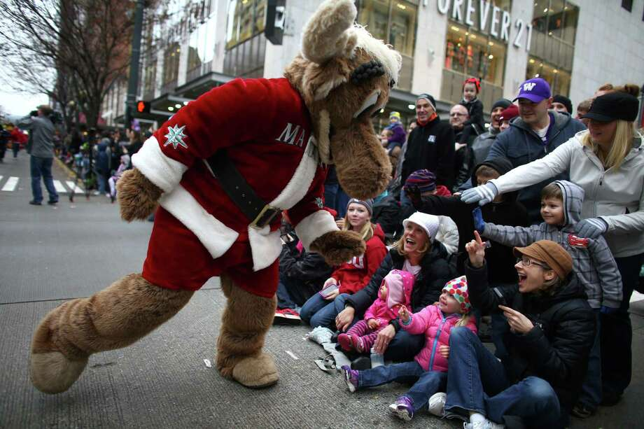 The downtown holiday parade. (Photo: Nov. 29, 2013) Photo: JOSHUA TRUJILLO, - / SEATTLEPI.COM