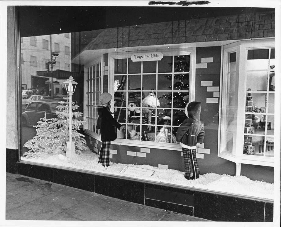 Frederick & Nelson displays like this one were a big draw for families every Christmas. (Photo: 1972) Photo: -