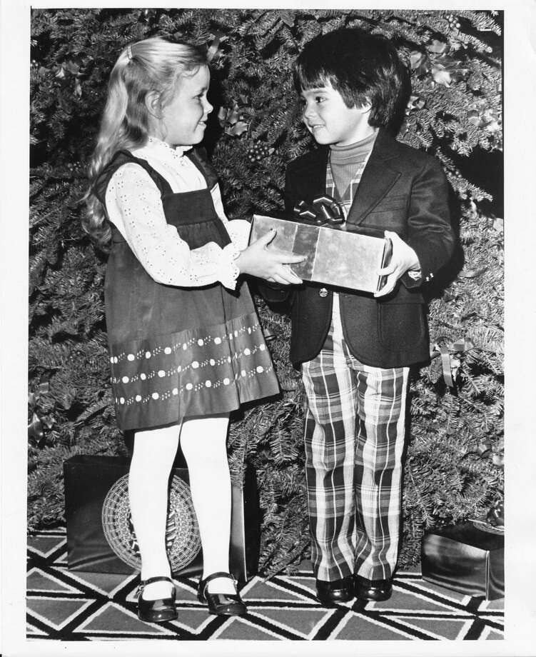 Also, having to wear that itchy, plaid suit and turtleneck for a holiday photo. (Photo: Dec. 11, 1977) Photo: -
