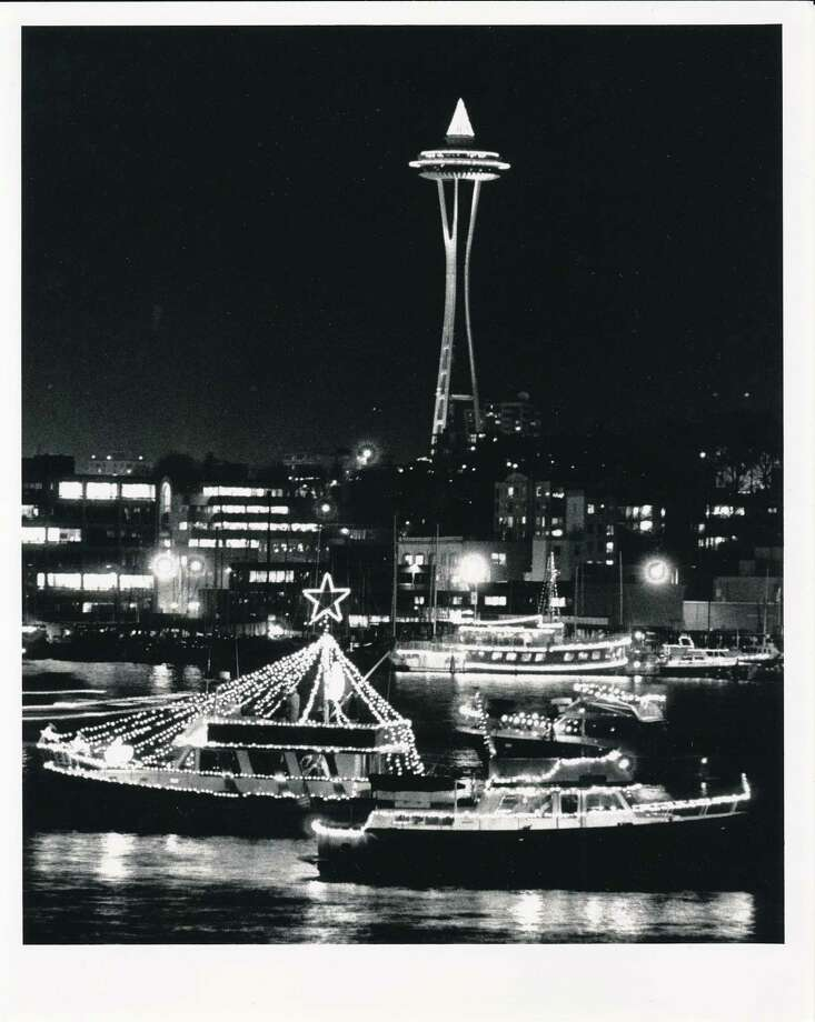 The Christmas ships are one of Seattle's most iconic holiday traditions. (Photo: Dec. 7, 1990) Photo: -