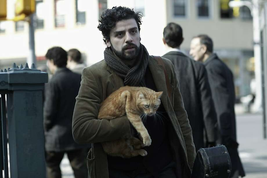Oscar Isaac plays a downtrodden early-'60s folk singer in this black comedy. Photo: Alison Rosa, CBS Films
