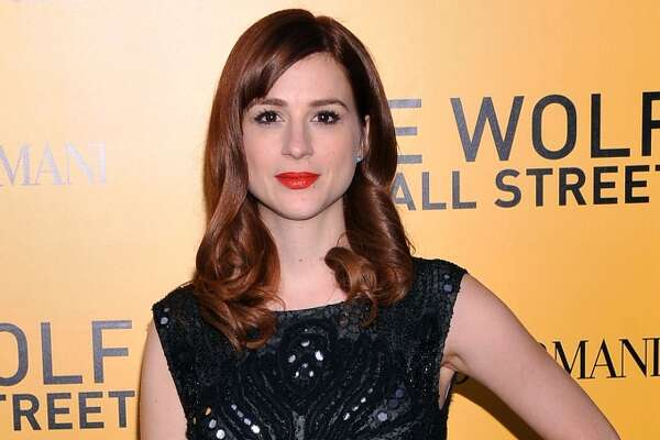 "Aya Cash attends Giorgio Armani Presents: ""The Wolf Of Wall Street"" world premiere at the Ziegfeld Theatre on December 17, 2013 in New York City."