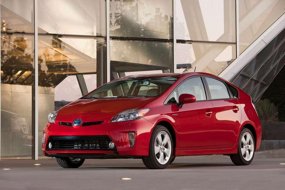 The 2014 Prius gets 51 miles per gallon in city driving and 48 mpg on the highway, according to the U.S. Environmental Protection Agency's fuel economy Web site. Photo: Courtesy Toyota