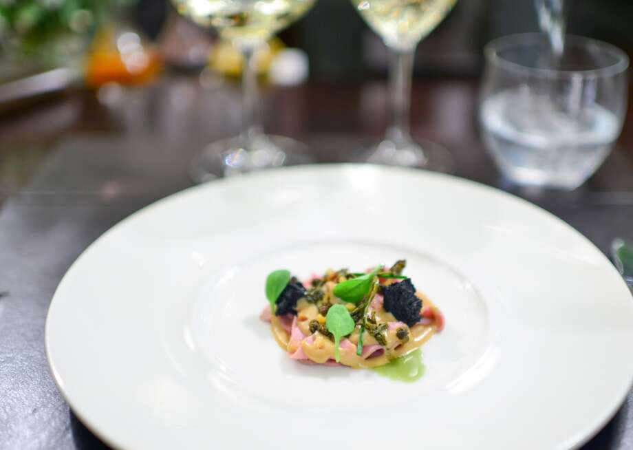3rd Course: Vitello Tonnato (Ladner) Photo: Bonjwing Lee Photography