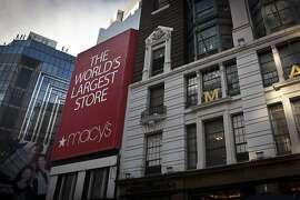 This Friday, Dec. 13, 2013 photo shows a view of a Macy's flagship store in New York. Claims over racial profiling at department stores in New York have helped expose the practice in more than 40 states of retailers holding shoplifting suspects and assessing fines, even if a person hasn't yet technically stolen anything. At Macy's flagship store, suspects are held in cells, asked to sign an admission of guilt and pay hundreds in fines. (AP Photo/Bebeto Matthews)