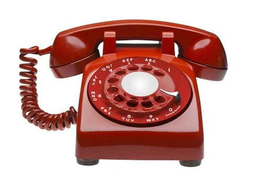 Rotary phones (Shutterstock / Christian Delbert)