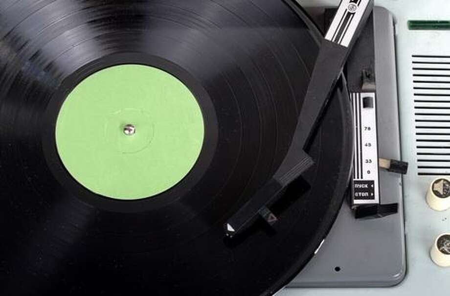 Record players (Shutterstock / K13Art)