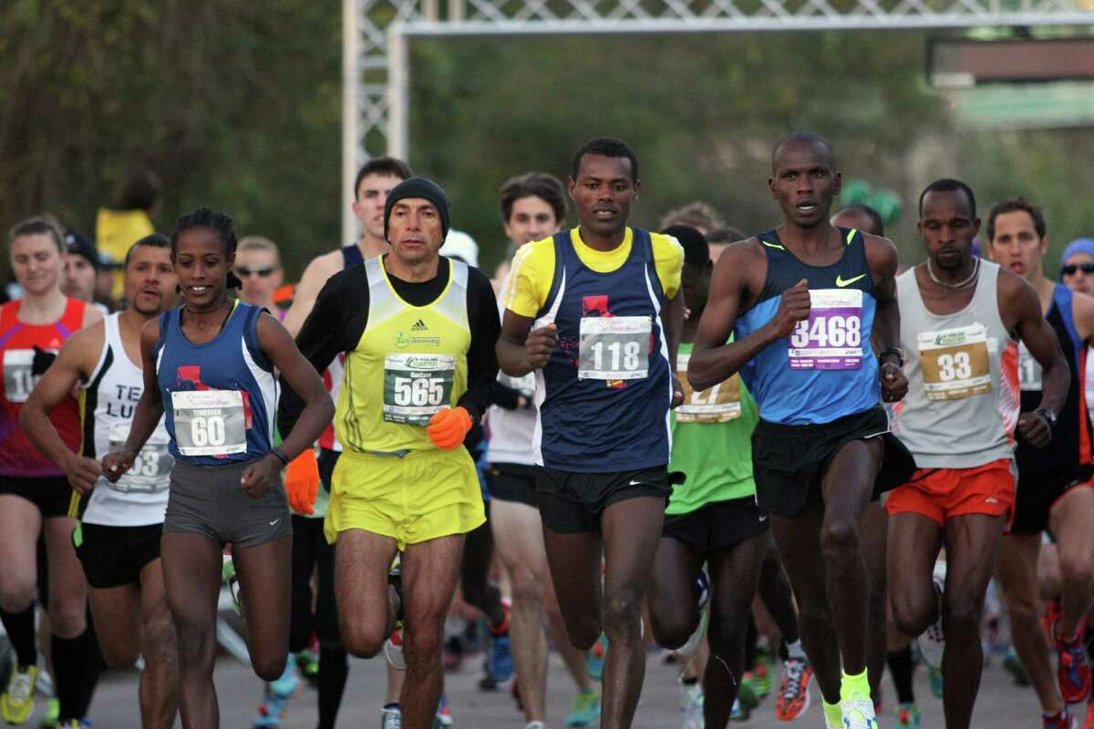 The Woodlands Marathon organizers see the flat, straight course set to be unveiled today as one that could let participants produce record-breaking times.