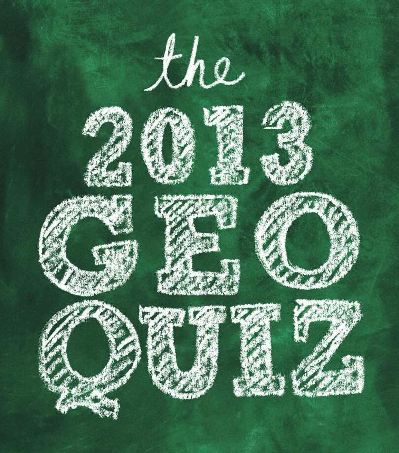 Click here for the Geoquiz Answers.