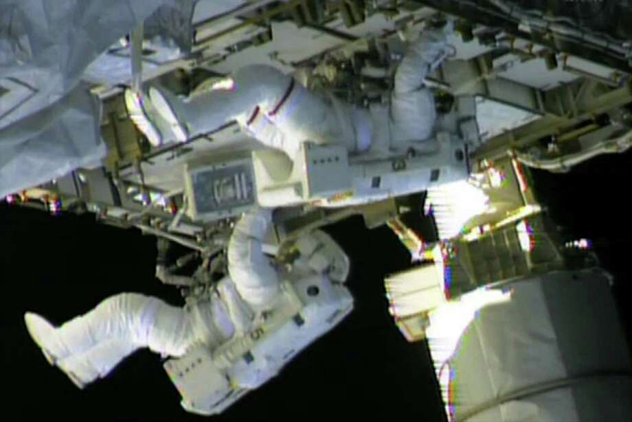 U.S. astronauts will perform two to four spacewalks during Christmas week to repair an ailing cooling system on the International Space Station. NASA emphasised that the lives of the multinational crew were not in danger but both Russian and U.S. space experts were scrambling to swiftly fix the problem. Photo: AFP / Getty Images / AFP