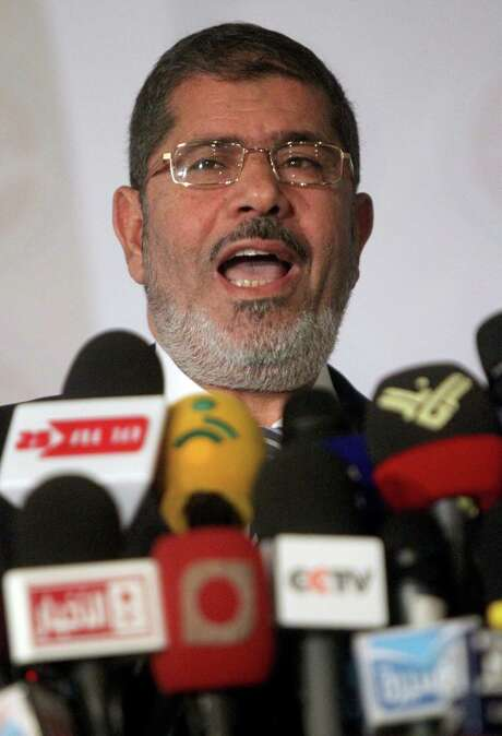 """Mohamed Morsi will stand trial for """"espionage,"""" state media reported Wednesday. Photo: AFP/Getty Images / AFP"""