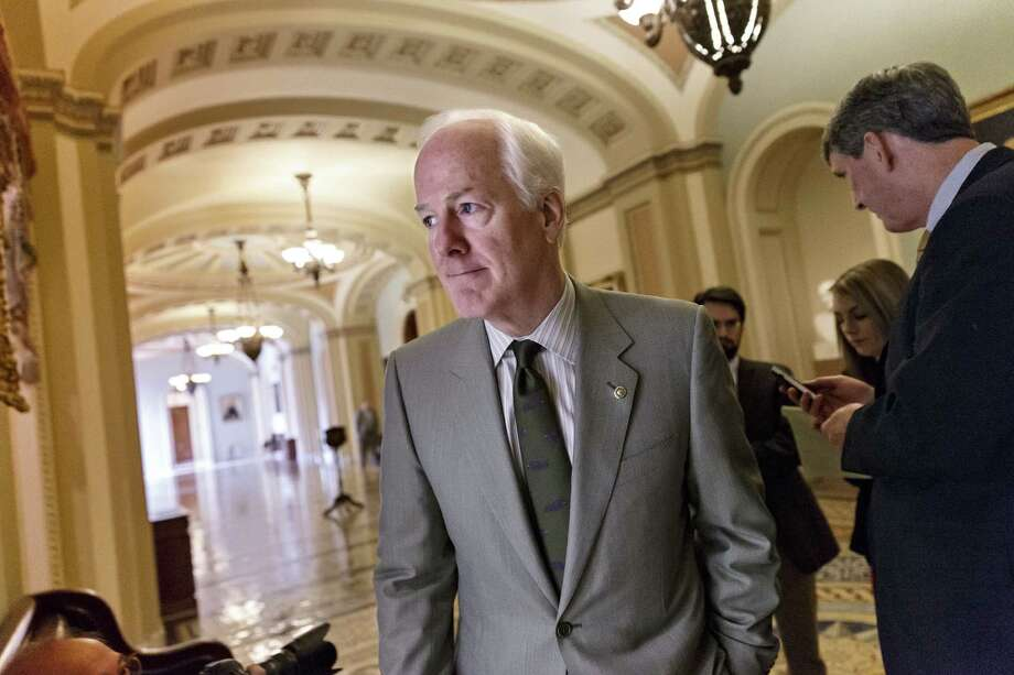 Sen. John Cornyn, R-Texas, introduced legislation to increase penalties for customers and sex traffickers. Photo: J. Scott Applewhite / Associated Press / AP