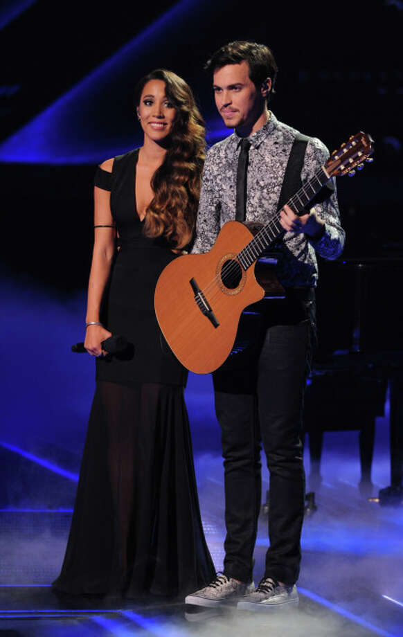 THE X FACTOR: ALEX & SIERRA performs advance THE X FACTOR airing Wednesday, Dec. 18 (8:00-9:00 PM ET/PT) on FOX.  CR: Michael Becker/ FOX.