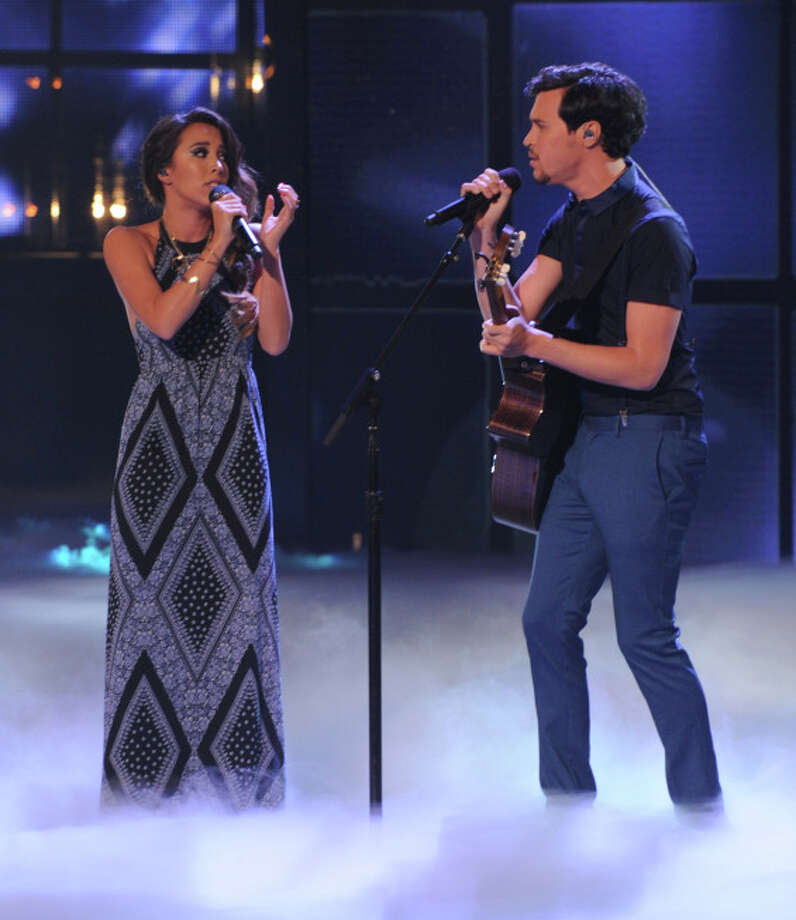 THE X FACTOR: ALEX & SIERRA performs on THE X FACTOR airing Wednesday, Dec. 18 (8:00-10:00 PM ET/PT) on FOX.  CR: Ray Mickshaw / FOX.